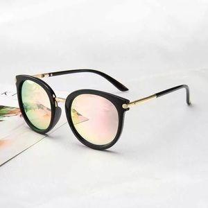Vintage Woman Reflective Sunglasses